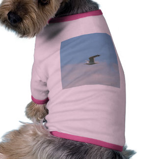 Seagull Flying Over Ocean Pet Clothes