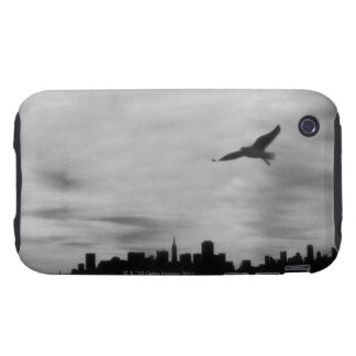 Seagull flying over skyline tough iPhone 3 cases