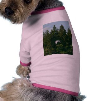 Seagull Flying Over Trees Pet Shirt
