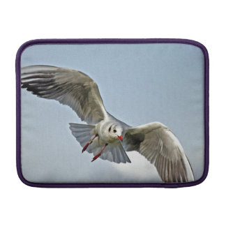 Seagull Flying with Wings Spread MacBook Air Sleeve