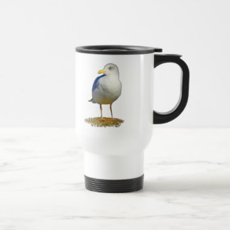 Seagull Got His Eye on You Travel Mug
