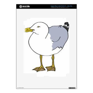 Seagull Illustration Skins For iPad 3