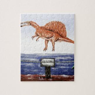 Seagull In Flight- Custom Print! Puzzles