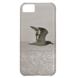 SEAGULL IN FLIGHT, MODERN DESIGN, UNIQUE LOOK iPhone 5C CASE