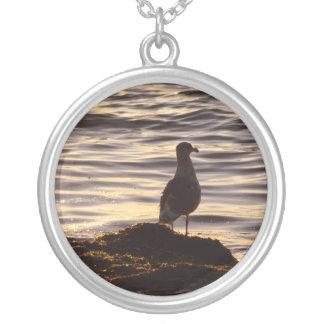 Seagull In Sunlight Pendant