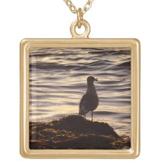Seagull In Sunlight Pendants