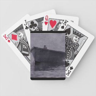 SEAGULL IN THE MIST BICYCLE PLAYING CARDS