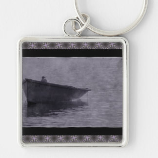 Seagull In The Mist. Keychains