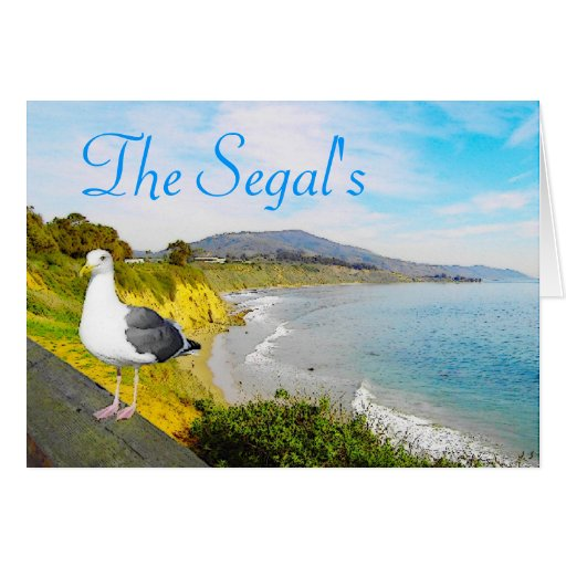 Seagull Island Greeting Cards