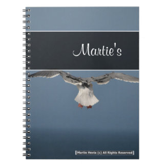 Seagull Leaves Notebook