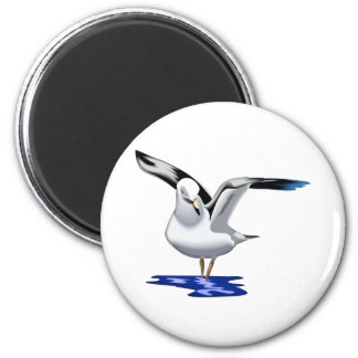 Seagull Liftoff 2 Inch Round Magnet