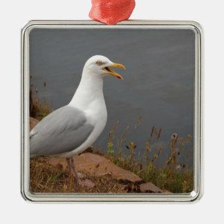Seagull Metal Ornament