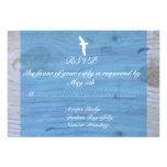 Seagull/Nautical Wedding RSVP Personalized Invite