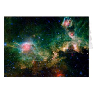 Seagull Nebula NASA Space Card