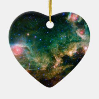 Seagull Nebula NASA Space Ceramic Ornament