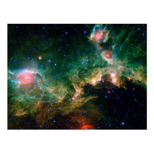 Seagull Nebula NASA Space Post Cards