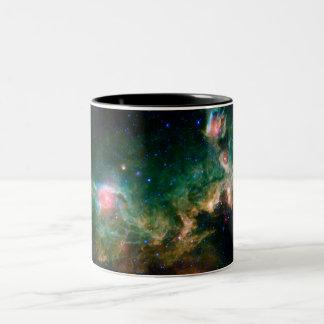 Seagull Nebula NASA Space Two-Tone Coffee Mug