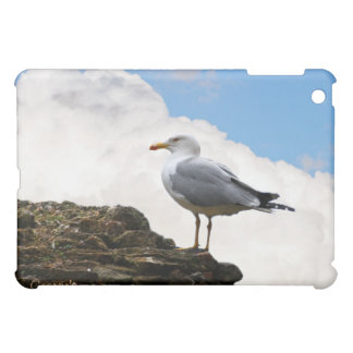 Seagull on a Brick-Wall in Rome Cover For The iPad Mini