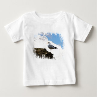Seagull on a Brick-Wall in Rome Tshirt