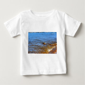 SEAGULL ON A WAVE QUEENSLAND AUSTRALIA BABY T-Shirt
