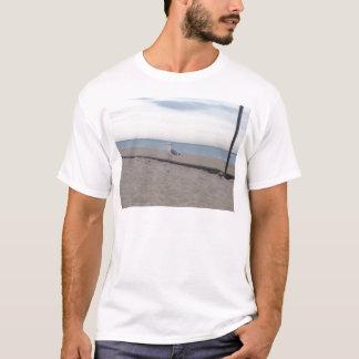 Seagull on Beach T-Shirt