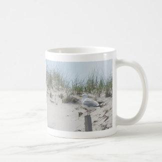 Seagull on Post 11 Oz Mug