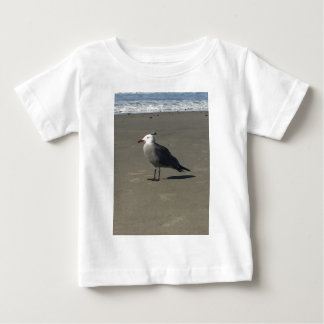 Seagull on the Beach Baby T-Shirt