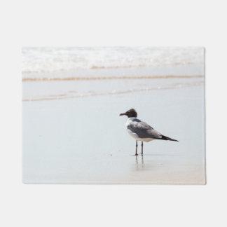 Seagull on the Beach Door Mat