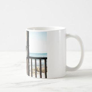 Seagull on the Blue Lagoon Coffee Mug