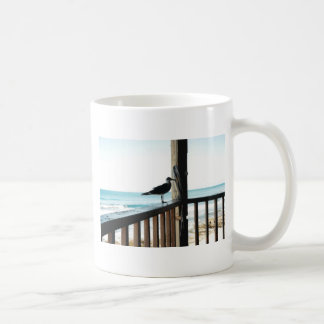 Seagull on the Blue Lagoon Coffee Mugs