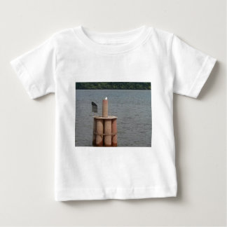 Seagull on the Mississippi River Baby T-Shirt