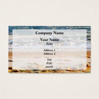 Seagull on Virginia Beach at Dawn Business Card