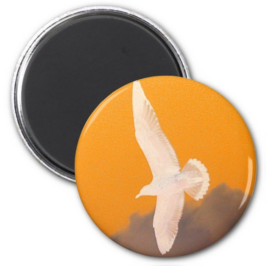 Seagull Orange Magnet