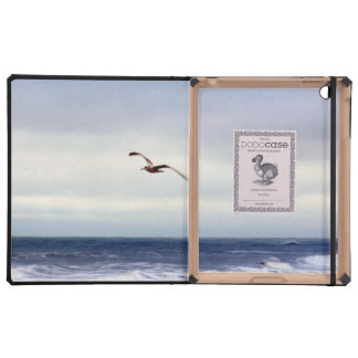 Seagull Over Waves iPad Cover