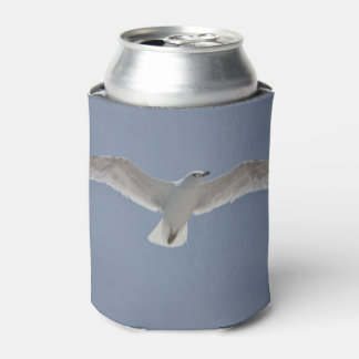 Seagull photo on drink cooler