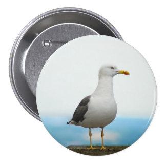 Seagull Pinback Button