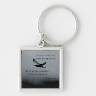 Seagull Quote Keyring Keychain