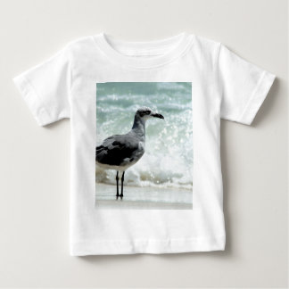 seagull sea gull bird picture photo baby T-Shirt