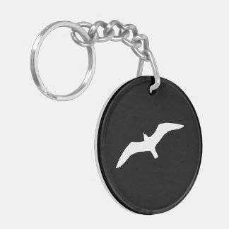 Seagull Shape Keychain