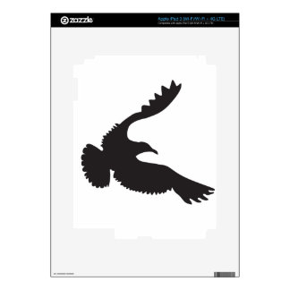 Seagull Silhouette iPad 3 Skins