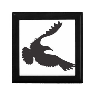 Seagull Silhouette Jewelry Box