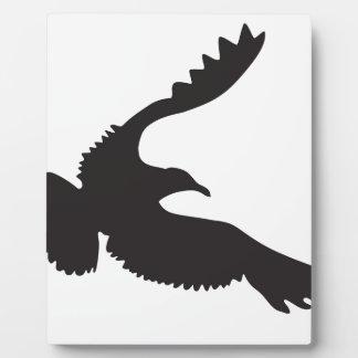 Seagull Silhouette Plaque
