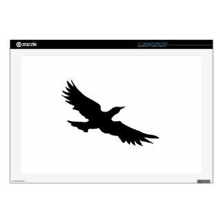 "Seagull Silhouette 17"" Laptop Skin"