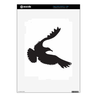 Seagull Silhouette Skin For The iPad 2