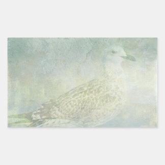 Seagull Sonata Rectangular Sticker