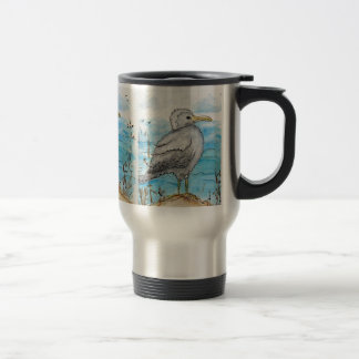 Seagull Thermos Travel Mug