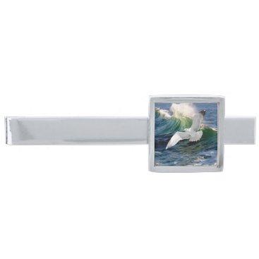 """Beach Themed """"Seagull"""" Tie Bar"""