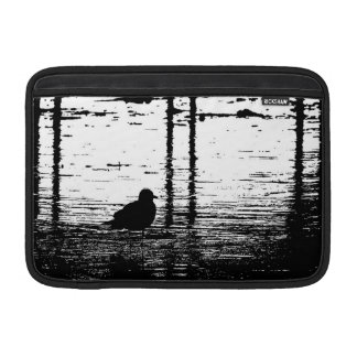 Seagull Under The Pier MacBook Air Sleeves