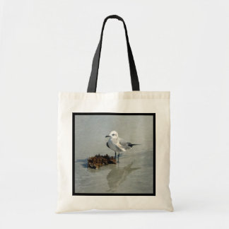 Seagull with Seaweed Tote Bag
