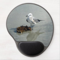 Seagull with Seaweed Gel Mouse Pad